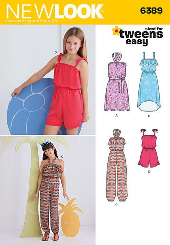 Sewing Pattern Dresses 6389