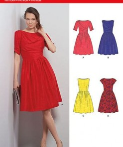 Sewing Pattern Dresses 6391