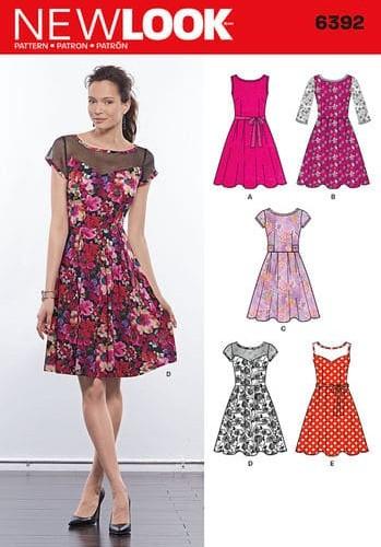 Sewing Pattern Dress 6392