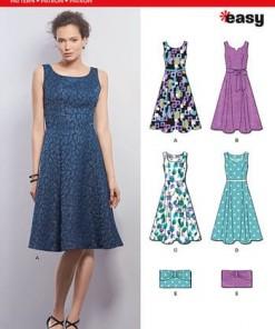 Sewing Pattern Dress / Purse 6393