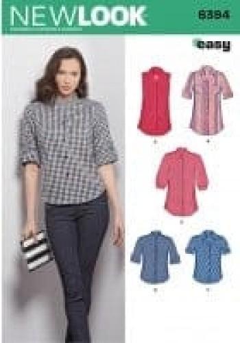 Sewing Pattern Shirt 6394