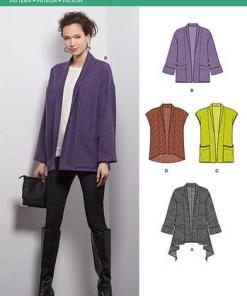 Sewing Pattern Jacket / Vest 6397