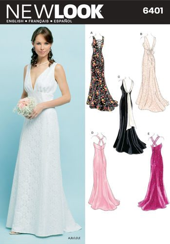 Sewing Pattern Special Occasion 6401