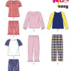 Sewing Pattern Tod / Child Cozywear 6406