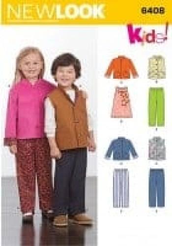 Sewing Pattern Jacket Jumper 6408