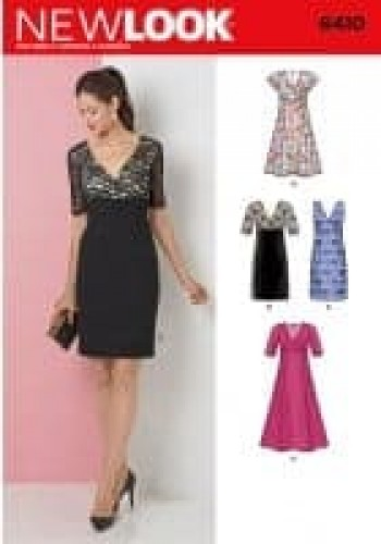 Sewing Pattern Dresses 6410