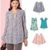 Sewing Pattern Tops Vest Jkts Coats 6414