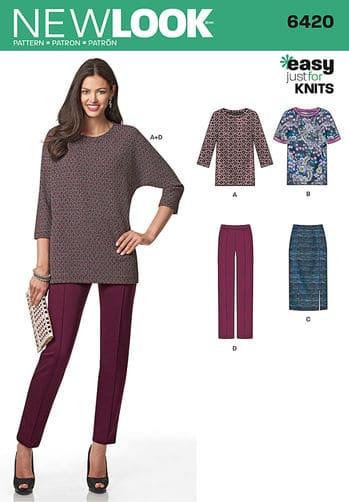 Sewing Pattern Sportswear 6420