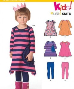 Sewing Pattern Knit Dress Leggin 6423