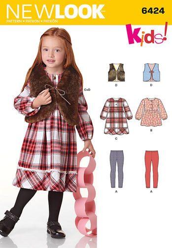 Sewing Pattern Sportswear 6424
