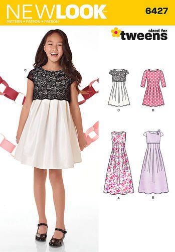Sewing Pattern Dress & Gown 6427