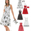 Sewing Pattern Dresses 6457