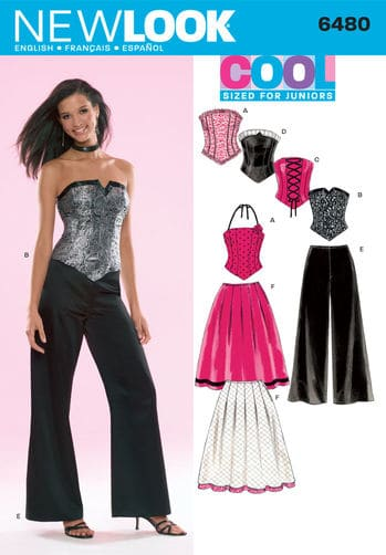 Sewing Pattern Special Occasion 6480