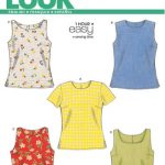Sewing Pattern Tops Vests 6483