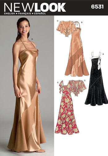 Sewing Pattern Special Occasion 6531
