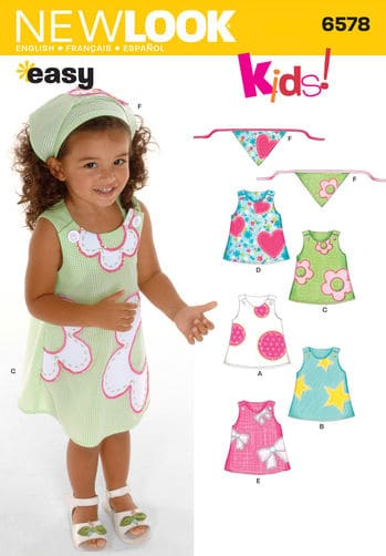 Sewing Pattern Dresses 6578