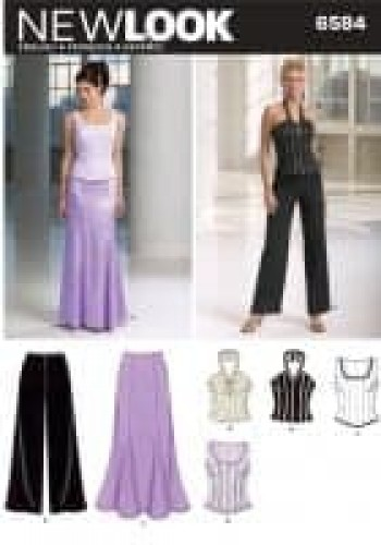 Sewing Pattern Special Occasion 6584