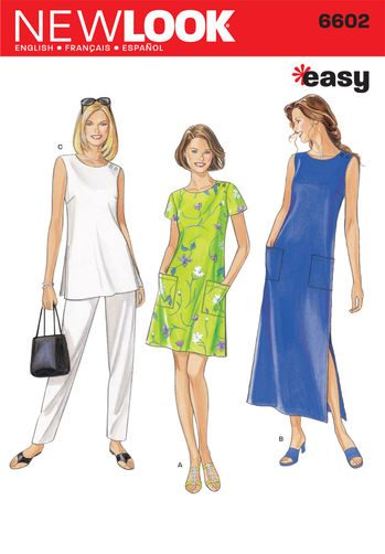 Sewing Pattern Dresses 6602