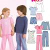 Sewing Pattern Sleepwear 6641