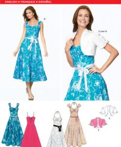 Sewing Pattern Dresses 6675