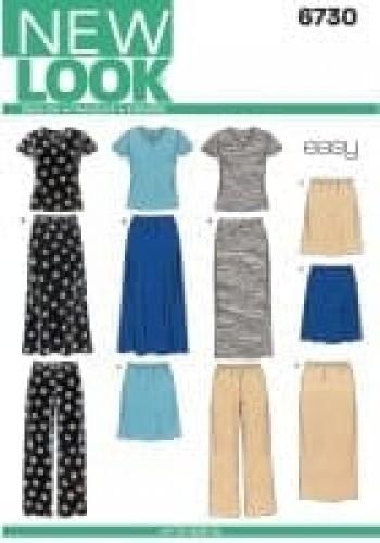 Sewing Pattern Sportswear 6730