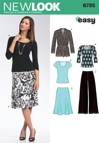 Sewing Pattern Sportswear 6735