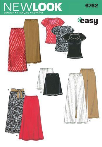 Sewing Pattern Sportswear 6762
