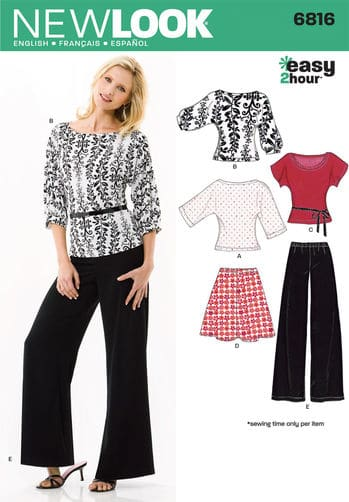 Sewing Pattern Sportswear 6816