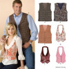 Sewing Pattern Tops Vests 6839