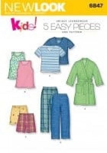 Sewing Pattern Sleepwear 6847
