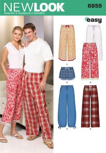 Sewing Pattern Skirts Pants 6859