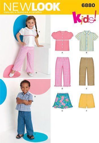 Sewing Pattern Sportswear 6880