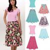 Sewing Pattern Skirts Pants 6899