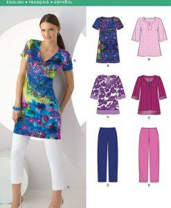 Sewing Pattern Sportswear 6983