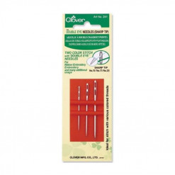 Clover Double Eye Sharp Needles 241