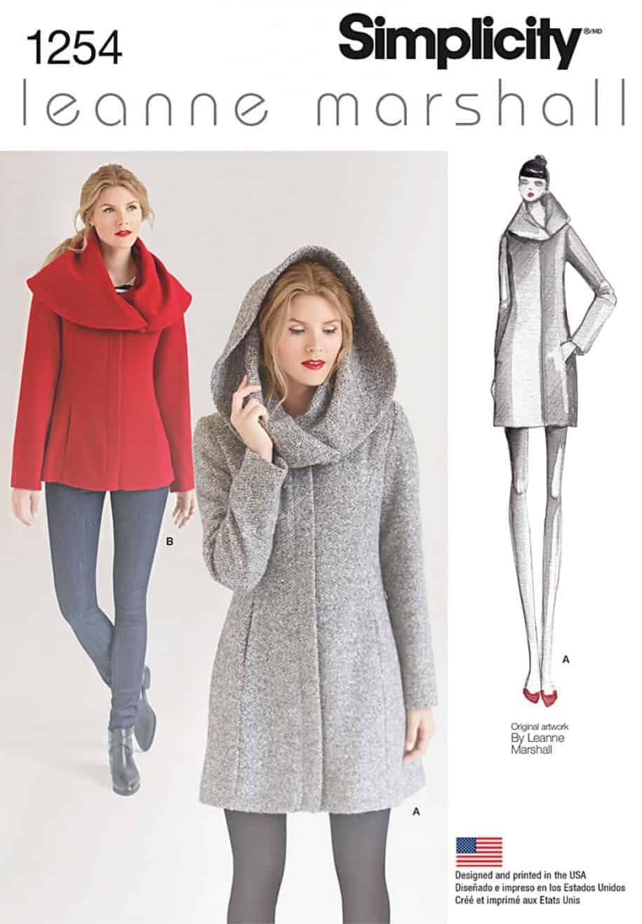 Simplicity Sewing Pattern 1254-D5 - Misses Leanne Marshall Easy ...