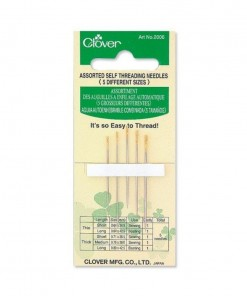 Clover Self Threading Needles 2006