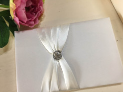 Wedding Guest Book Front