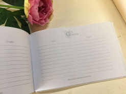 Wedding Guest Book Opened