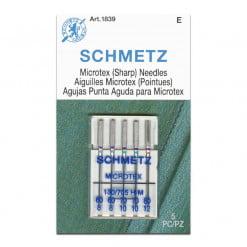 Schmetz Microtex 60-80