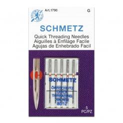 Schmetz Quick Threading Needles 80-12