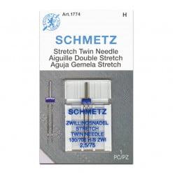 Schmetz Stretch Twin 2.5-75