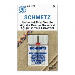 Schmetz Universal Twin 2.5-80