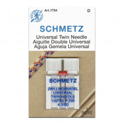 Schmetz Universal Twin 4.0-80