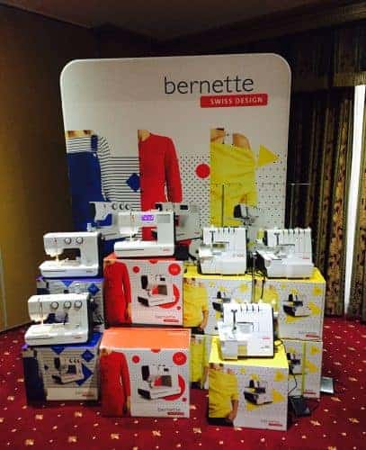 New Bernette Sewing Machine Range Released
