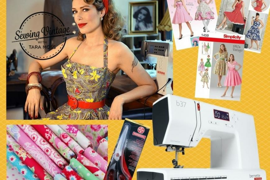 Celebration of Sewing Vintage with Tara Moss season 2