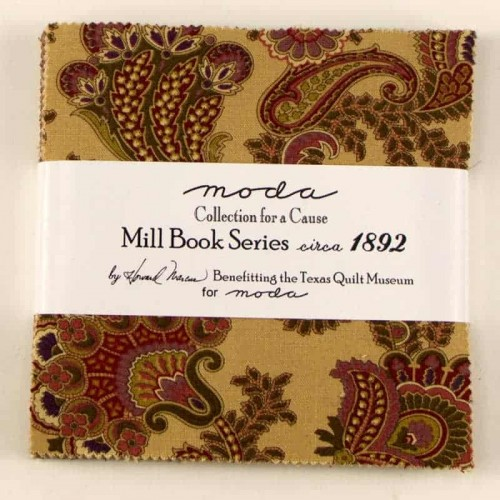 Mill Book 1889 Charm Pack