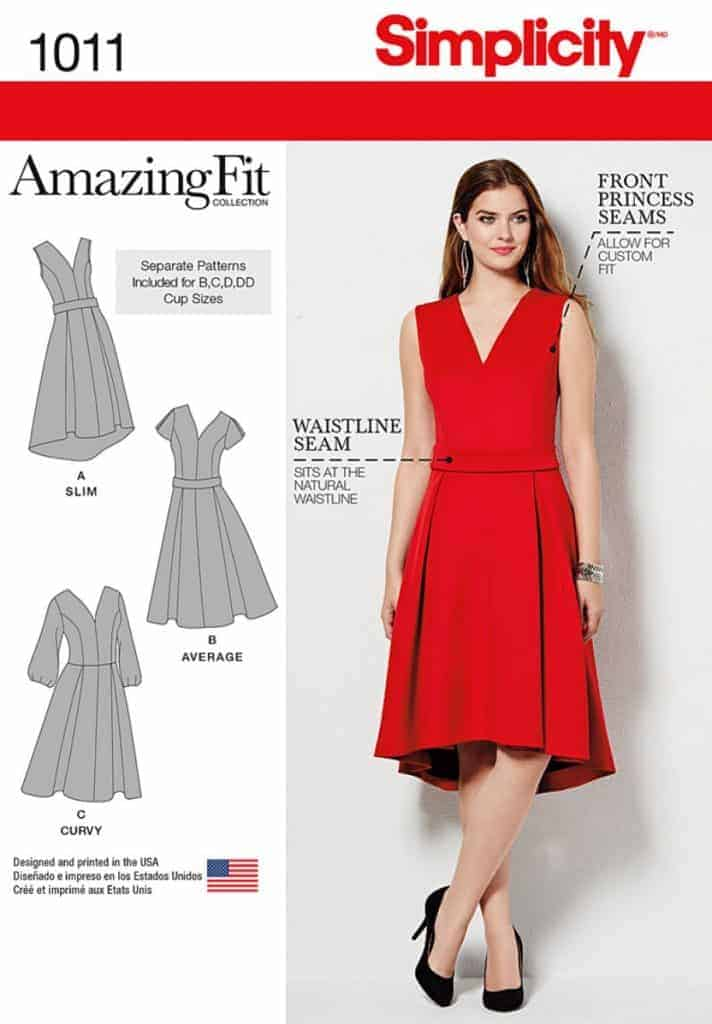 Discontinued) Simplicity Sewing Pattern 1011-BB - Misses and Plus ...