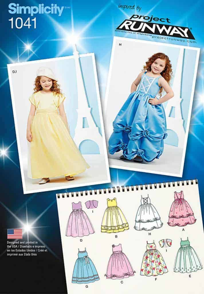 Discontinued Simplicity Sewing Pattern 1041 Bb Childs Project