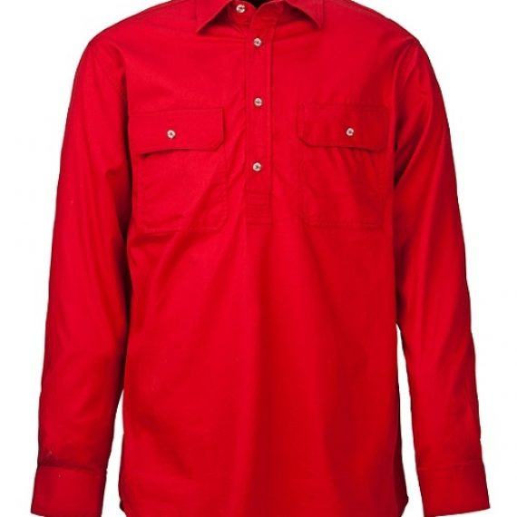 Kid's Closed Front Pilbara Work Shirt